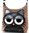 Sleepyville Critters Shoulder Bag with Cat