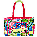 Flamingo Cove Medium Tote