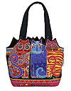 Tres Gatos Medium Tote Bag