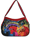 Wild Horses of Fire Hobo Bag