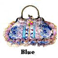 Victorian Style Evening Bag in Blue