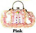 Victorian Style Evening Bag in Pink