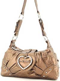 Handbag with Heart Design