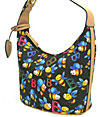 Bee Design Bucket Hobo Bag