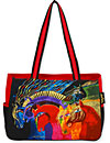 Wild Horses of Fire Medium Tote Bag