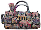 Cat Tapestry Medium Satchel Bag