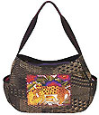 Leopards of Shambala Hobo Bag