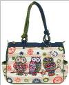 Groovy Owls Medium Tote