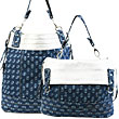 Firecracker Denim Reversible Handbag