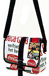 Coca Cola Retro Style Messenger Bag