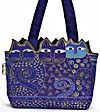Tres Gatos Indigo Cats Tote Bag