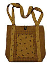 Market Bag in Country Primitive Design