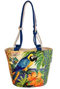Parrot Palace Medium Tote