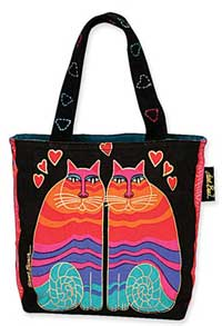 Rainbow Cats Small Tote Bag