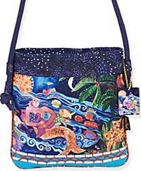 Ocean Song Crossbody Bag