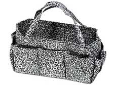 Purse Organizer in Leopard Print