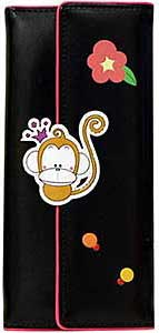 Trifold Wallet with Monkey
