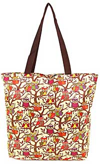 Tree Owls Tote Bag