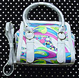 Pucci Style Colorful Handbag with Detachable Strap