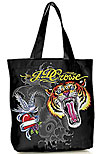 Tattoo Tiger Tote Bag